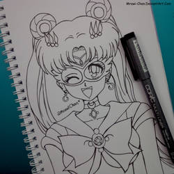 Sailor Moon Crystal by Mrawi-Chan