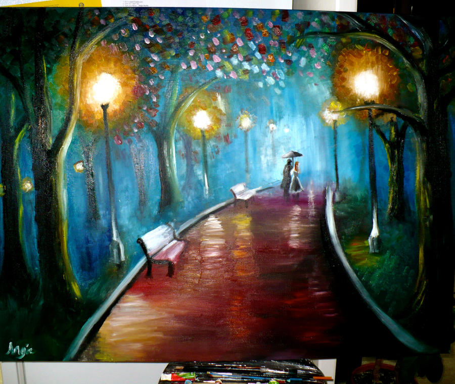 A Dreamy Stroll by serenelittleangel17
