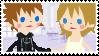 RokuNami Stamp II by HeartlessKairi