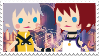 KH I RiKai Stamp by HeartlessKairi