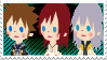 KH II SoKaiRi Stamp by HeartlessKairi