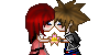 Sora x Kairi Kiss PLZ by HeartlessKairi