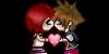 KH1! Sora x Kairi Kiss PLZ by HeartlessKairi