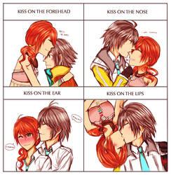 hope/vanille kiss meme