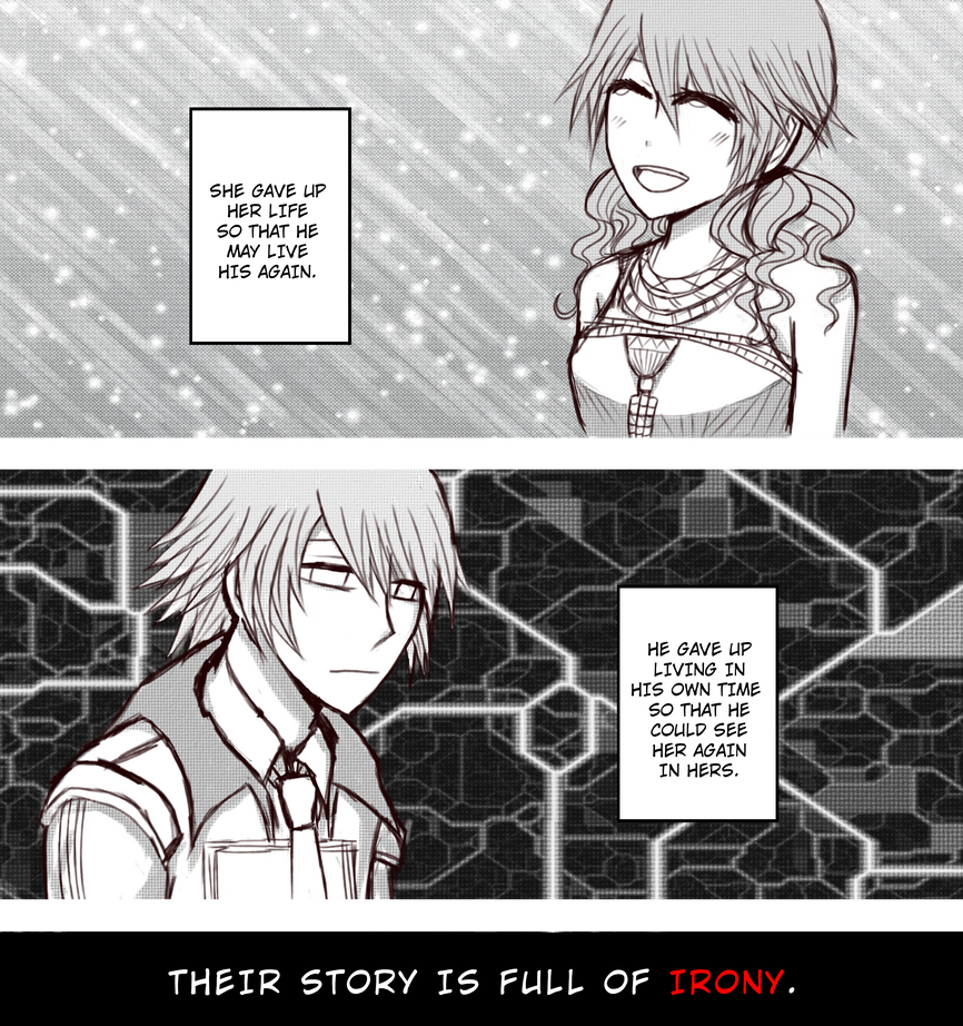 a story full of irony by HeartlessKairi