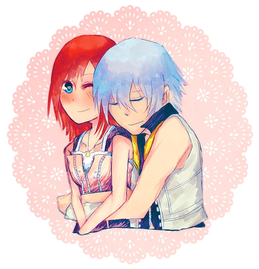 back hug by HeartlessKairi