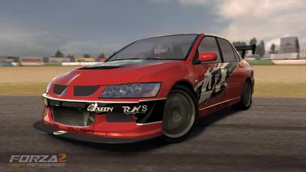 Forza 2, Tokyo Drift Evo IX by AllydNYC