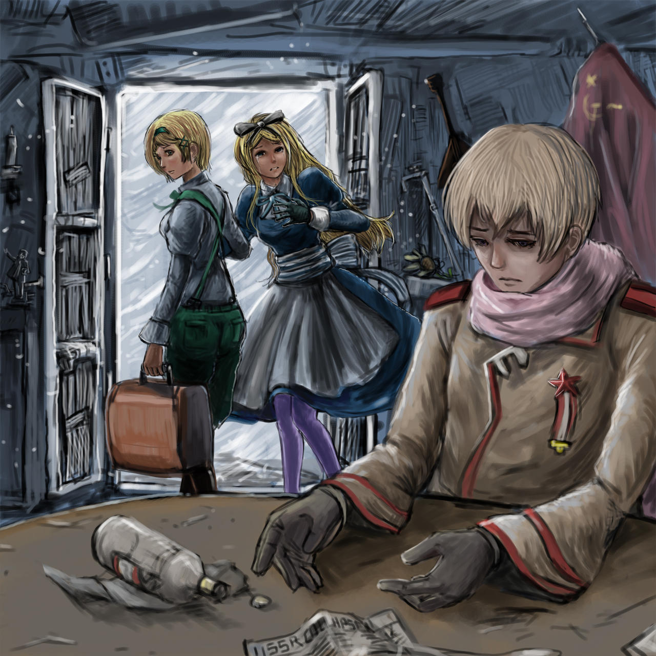 Hetalia ukraine x reader x belarus conditions