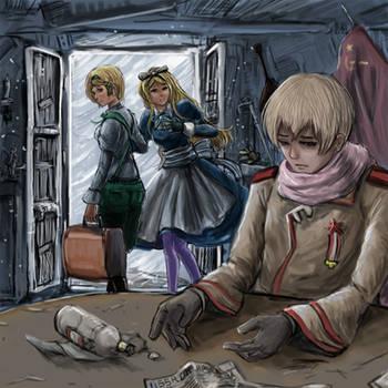 Ukraine X Belarus X Russia by hetaliasse