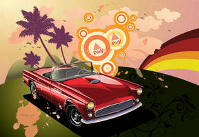 Vector Classic Car by OCMay