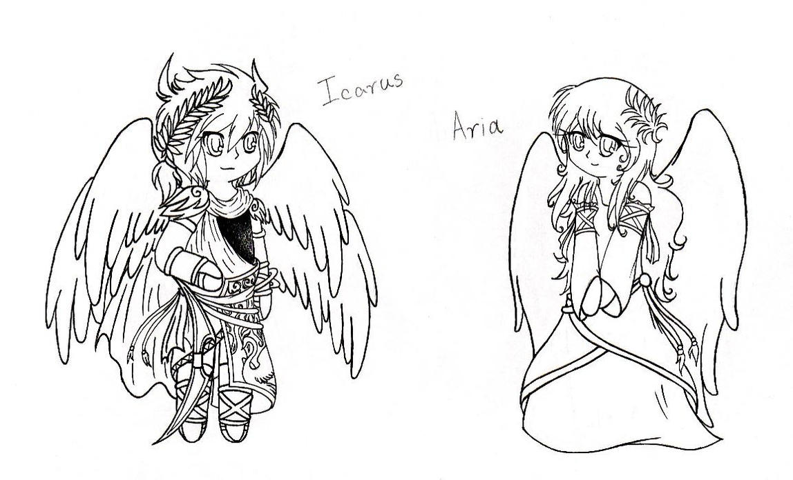 Icarus And Aria By Keikov51f