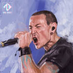 Chester Bennington - Speed Painting