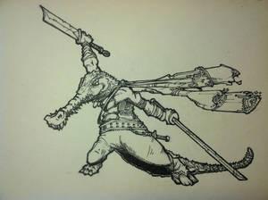 Kung Fu Croc