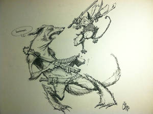Mouse Guard - Inktober Day 6