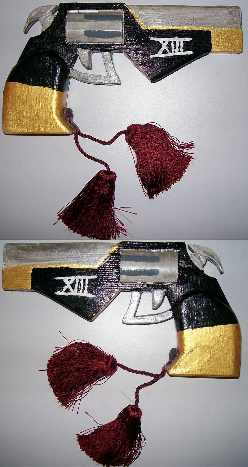 Hades Pistol by EbonNekoXIII