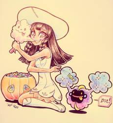 [Pokitober] Day-31 Pumpkin by Azure-Grimalkin