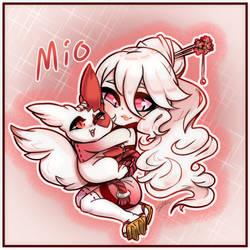 GotM: Mio by Azure-Grimalkin