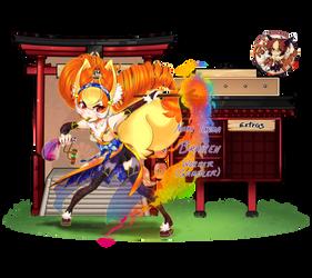 Pokimono App: Nari Tenma by Azure-Grimalkin