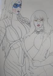 Dionara and Emily by Athane