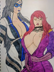 Dionara and Emily coloir by Athane
