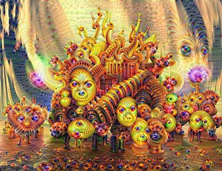 Deep Dream Medusa