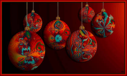 Christmas baubles by marijeberting