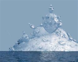 Icy mountain by marijeberting