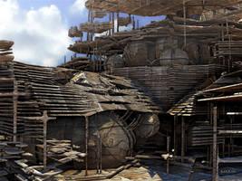 Sawmill by marijeberting