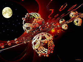 Orion Spacecraft by marijeberting