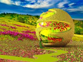 Wild Flower Meadow by marijeberting