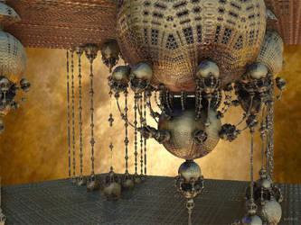 Turkish hanging lamp by marijeberting