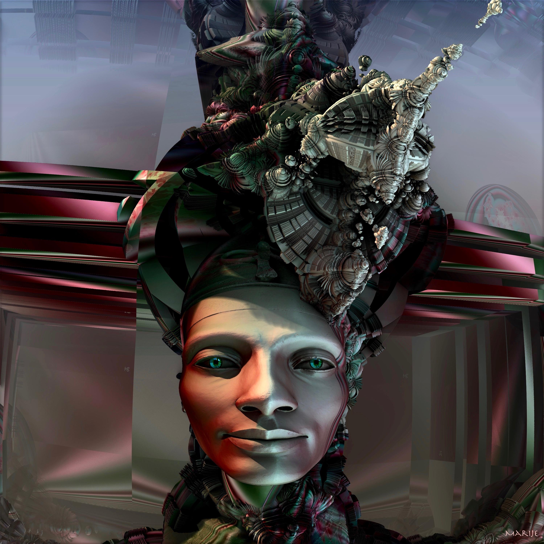 Return of Nefertiti by marijeberting on DeviantArt