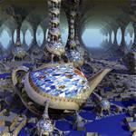 Gaudi Mandelbulb Teapot