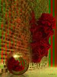 Outburst of Poinsettia Christmas Flowers