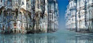 Gaudi's architecture in Venice by marijeberting