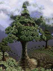 Arbor vitae by marijeberting