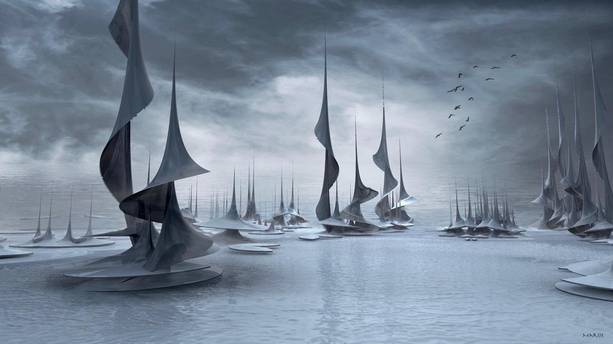 Sailing by marijeberting