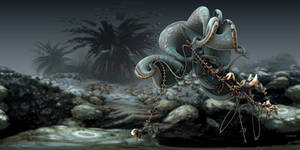 Fighting Octopuses