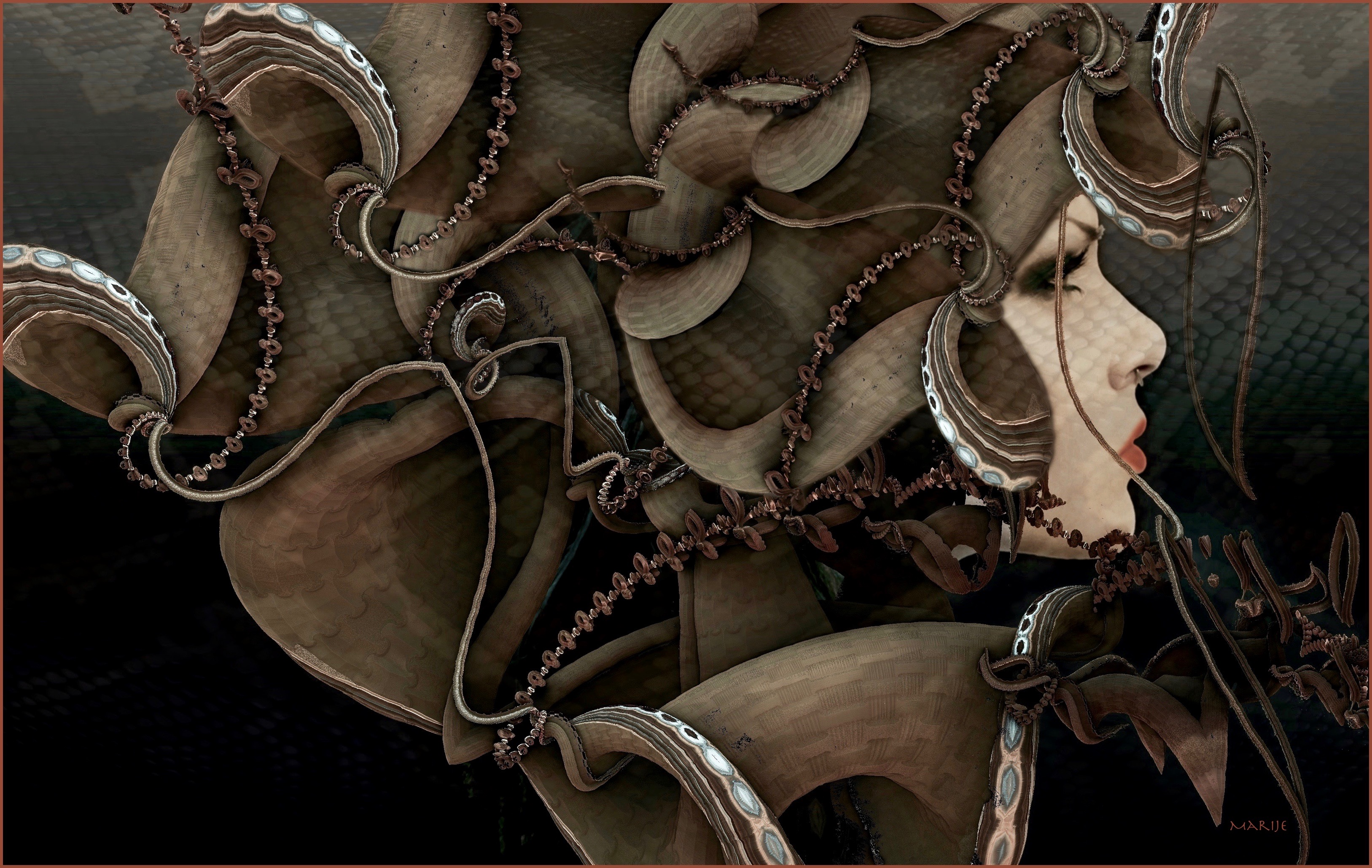 Medusa by marijeberting