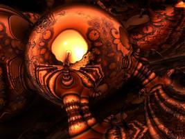 Lighting the giant bulb by marijeberting