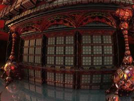 Secret Chinese House by marijeberting