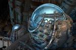 Spherical water storage tanks