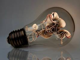 Fractal in light bulb