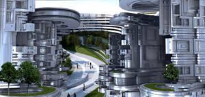 Future City by marijeberting