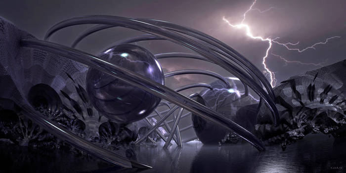 Harness electricity from lightning ...