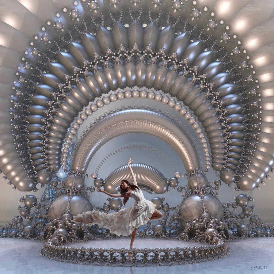 A captivating dancer by marijeberting