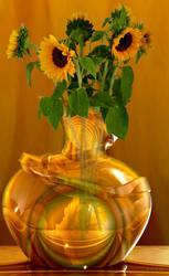 Sunflowers for Sandra by marijeberting