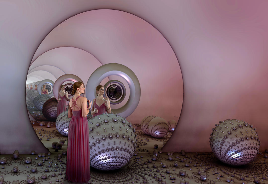Infinity Mirror for Suzie :iconsuziewinkler: by marijeberting