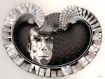 Heart-shaped medallion