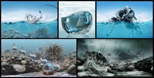 Underwater art by marijeberting